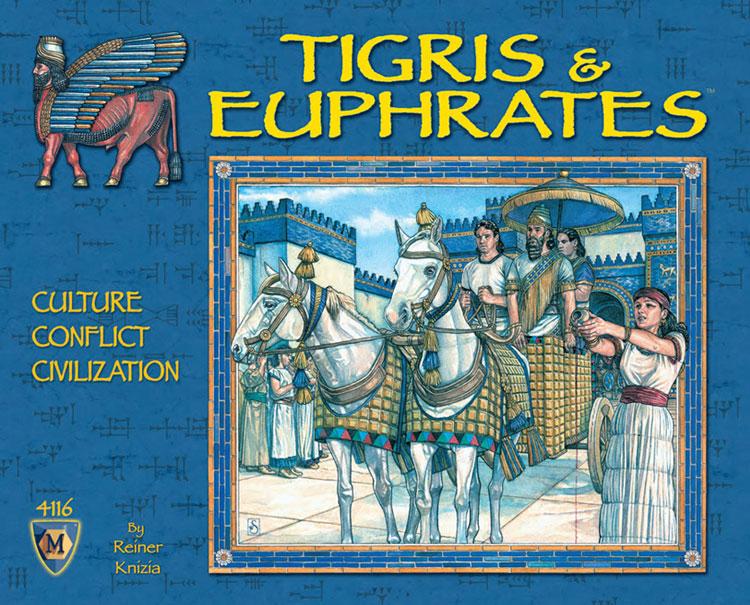 egyptenaren spel Tigris en Euphrates